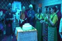 धूमधाम से मनाया गया तिब्बती धर्मगुरु दलाई लामा का जन्मदिन