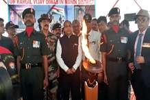 वीरभूमि हिमाचल पहुंची करगिल विजय मशाल, CM ने किया स्वागत