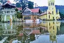 PHOTOS: शिमला में मॉनसून की पहली बारिश, 9 जिलों के लिए अलर्ट