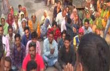 यमुनानगर में पुलिस चौकी के बाहर हुआ हनुमान चालीसा का पाठ