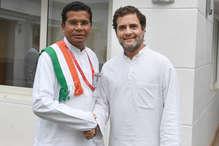 कांग्रेस के मोहन मरकाम ने दिया बीजेपी को खुला चैलेंज