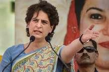 हिरासत में ली गईं प्रियंका गांधी, कांग्रेस ने लगाए ये आरोप