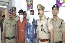 चोरी की गाड़ी में पर्यटकों को घुमाने वाले दो चोर गिरफ्तार
