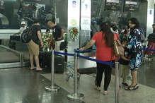इंदौर एयरपोर्ट पर हाई अलर्ट, तीन स्तरों पर की जा रही चेकिंग