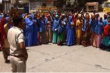 चूरू में 100 के आशा सहयोगिनों के खिलाफ मामला दर्ज