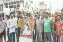 दिल्ली में टूटा रविदास मंदिर, हरियाणा में शुरू हुआ विरोध
