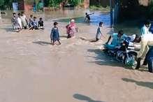 यमुनानगर के लापरा गांव में घुसा यमुना का पानी