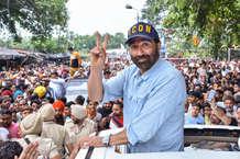 गुरदासपुर में सनी देओल की शानदार जीत, जनता को कहा शुक्रिया