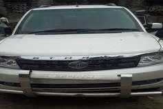 जेडीयू का झंडा लगी गाड़ी से पहुंचे अपराधी फिर शहर में की अंधाधुंध फायरिंग