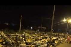 साध्वी यौन शोषण मामला: पंचकूला पहुंचे हजारों डेरा समर्थकों ने सड़क पर गुजारी रात