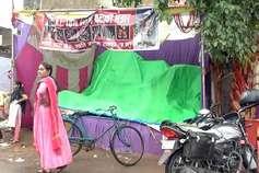 रायपुर में दीपावली पर बारिश बनी 'रंग में भंग', व्यापारियों को नुकसान