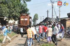 VIDEO : ड्राइवर की सूझबूझ से नवादा में टला ट्रेन हादसा
