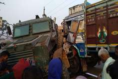 जमुई में सड़क हादसे में दो सैप जवान की दर्दनाक मौत, 2 अन्य घायल