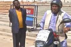 VIDEO: मोटरसाइकिल से भराड़ीसैंण पहुंच गए झबरेड़ा विधायक