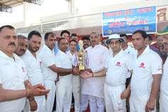 मैत्री मैच में उत्तरांचल प्रेस क्लब ने शिमला प्रेस क्लब को 79 रन से हराया