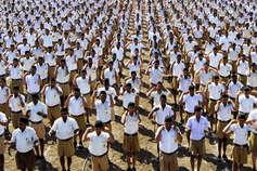 सीमा के समीप पहली बार RSS का हिंदू महासंगम, 21 हजार स्वयंसेवक होंगे शामिल