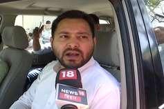 नीतीश कुमार नैतिक भ्रष्टाचार के भीष्म पितामह हैं: तेजस्वी यादव
