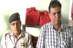 बीडीके अस्पताल का कंपाउडर और गार्ड रिश्वत लेते गिरफ्तार