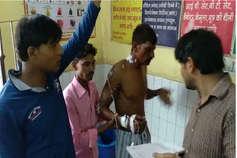 करौली में ओवरलोड बस में दौड़ा करंट, एक दर्जन यात्री झुलसे