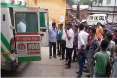उदयपुर में ट्रक पलटने से तीन मजदूरों की मौके पर ही मौत, चार गंभीर घायल