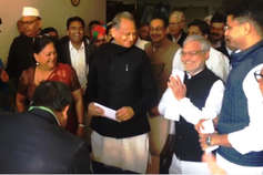 डॉ. सीपी जोशी बने विधानसभा अध्यक्ष, गहलोत बोले- कांग्रेस के साथ भी अन्याय मत होने देना