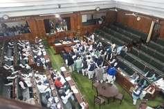 विपक्ष के भारी हंगामे के बीच बिहार विधानसभा में पारित हुआ सवर्ण आरक्षण बिल