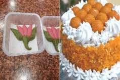 रिजल्ट: BJP बनवा रही 'कमल बर्फी' और लड्डू पेस्ट्री केक!