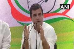 राहुल ने की इस्तीफे की पेशकश, कांग्रेस ने किया खंडन