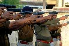 24 घंटे में 6 एनकाउंटर में 6 इनामी बदमाश गिरफ्तार