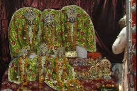 VIDEO: इस मंदिर में एकसाथ होती है भगवान राम और कृष्ण की पूजा