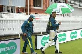 लॉर्ड्स टेस्ट पर बारिश का कहर, पहले दिन का खेल धुला
