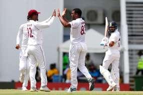 लाइव क्रिकेट स्कोर, India vs West Indies Live Score, 1st Test: रहाणे का अर्धशतक, के एल राहुल चूके