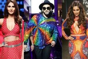 रंग-बिरंगे ट्रेंड्स, ये है Lakme Fashion Week में बॉलीवुड का जलवा