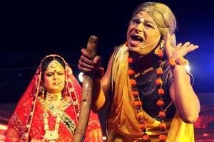 रामलीला ने किया माहौल भक्तिमय, निषादराज बने केन्द्रीय मंत्री