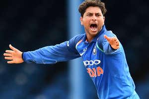 कुलदीप बने हैट्रिक लेने वाले तीसरे इंडियन, भारत ने 50 रन से जीता मैच