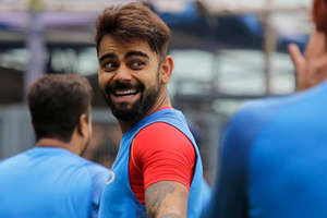 जब बारिश की वजह से नहीं हो पाई प्रैक्टिस, तो ऐसे मस्ती करती दिखी टीम इंडिया