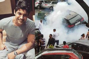 टीवी एक्टर सिद्धार्थ शुक्ला ने 5 गाड़ियां ठोकीं, पुलिस ने हिरासत में लिया