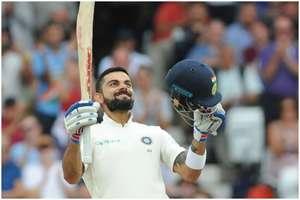कप्तान कोहली ने 'विराट' शतक के साथ बना डाले एक दर्जन से ज्यादा रिकॉर्ड