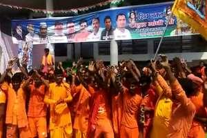 तस्वीरों में देखिए कैसे 'शिवभक्त' बने अमेठी में राहुल गांधी के सिपाही