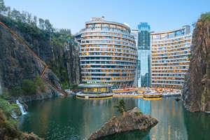 दुनिया का पहला अंडरग्राउंड होटल, दो फ्लोर ज़मीन के ऊपर और 16 नीचे