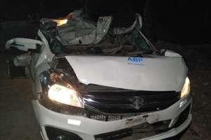 PHOTOS: रेवाड़ी में दर्दनाक हादसा, पिकअप और कार की टक्कर में 5 लोगों की मौत