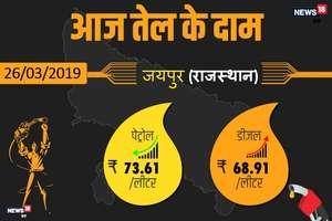 PHOTOS: जानिए राजस्थान के बड़े शहरों में क्या हैं आज पेट्रोल-डीजल के भाव