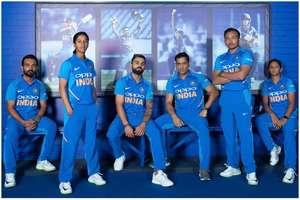 ...और यूं बदलता गया टीम इंडिया की जर्सी का रंग