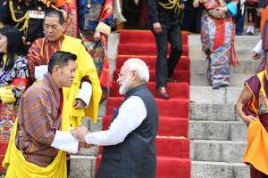 PHOTOS: PM नरेंद्र मोदी का भूटान में कैसा हुआ अद्भुत स्वागत