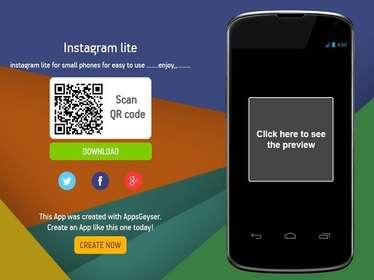 Instagram Lite-इंस्टाग्राम लाइट मूल रूप से ऐप की मोबाइल वेबसाइट है. अगर आपको अपने फोन में यह बहुत हेवी लगता है तो आप अपने फोन के वेब ब्राउजर का इस्तेमाल करते हुए इंस्टाग्राम की वेबसाइट पर जा सकते हैं और यहां आप वह सब कुछ कर सकते हैं, जो कि ऐप पर करते हैं.