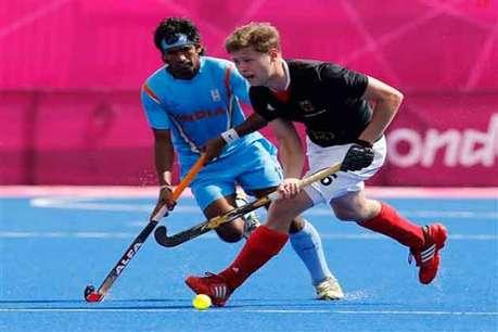 हॉकी में भारत जर्मनी से ओलंपिक में 2-5 से हारा