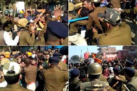 रईस फर्स्ट डे फर्स्ट शोः जबलपुर में शाहरुख की फिल्म का विरोध, पोस्टर जलाए