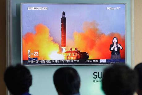 नॉर्थ कोरिया ने दागी 4 बैलिस्टिक मिसाइलें, तीन जापानी समुद्र में गिरी