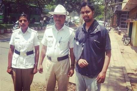 बेंगलुरु का पुलिसवाला जिसने एक्सिडेंट के बाद कुछ ऐसा किया कि...