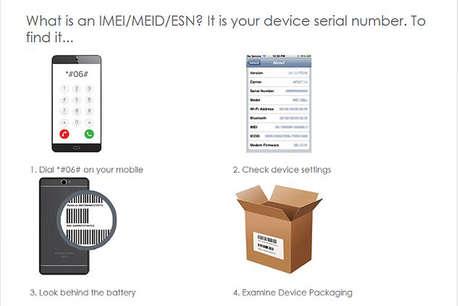 Interactive checker can tell you if a handset has been stolen